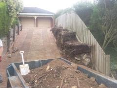 highton-driveway-retaining-wall-rebuild-2